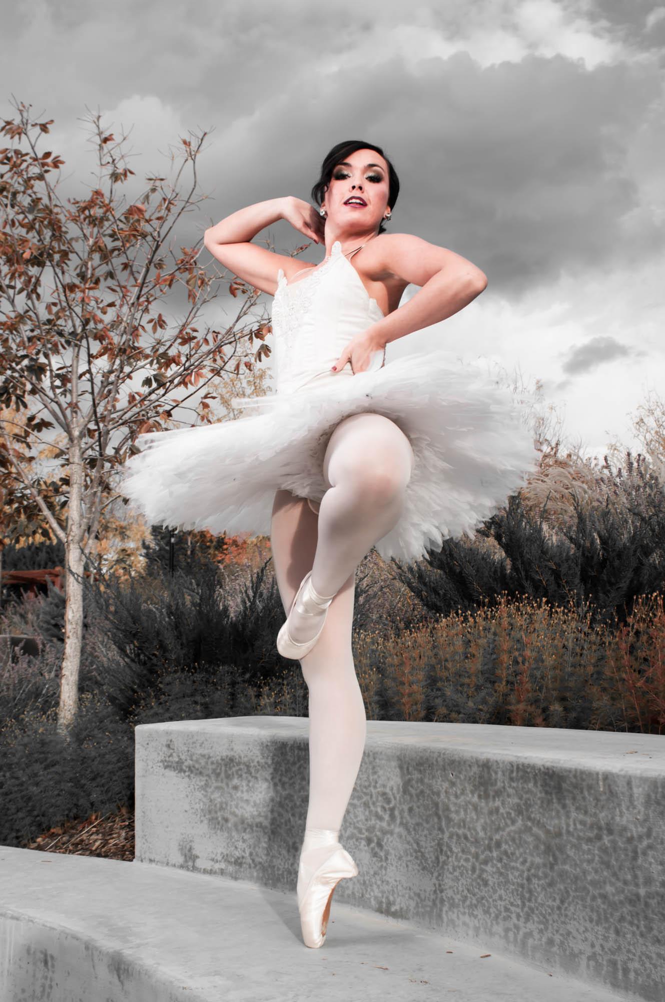 Dancer at Conservation Garden Park.