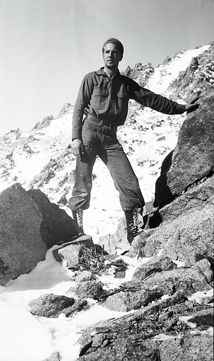 Fred Wilson, in the Sierra Nevada Mountains.