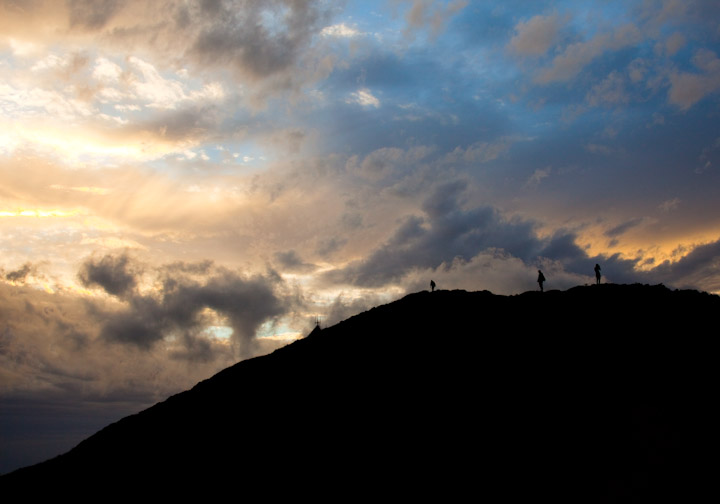 Hiking on Mt. Buller