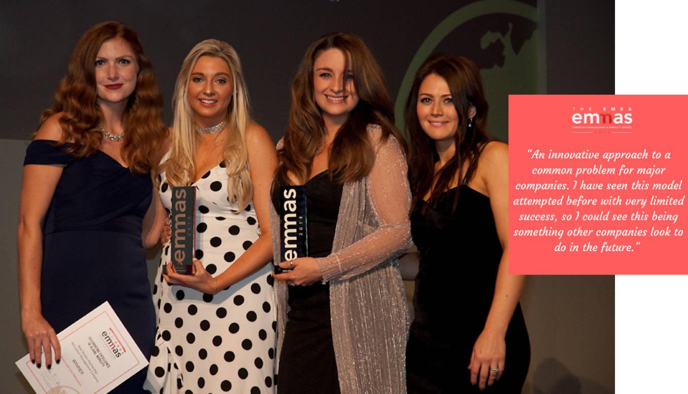 Presentation of EMEA EMMAs award 2018