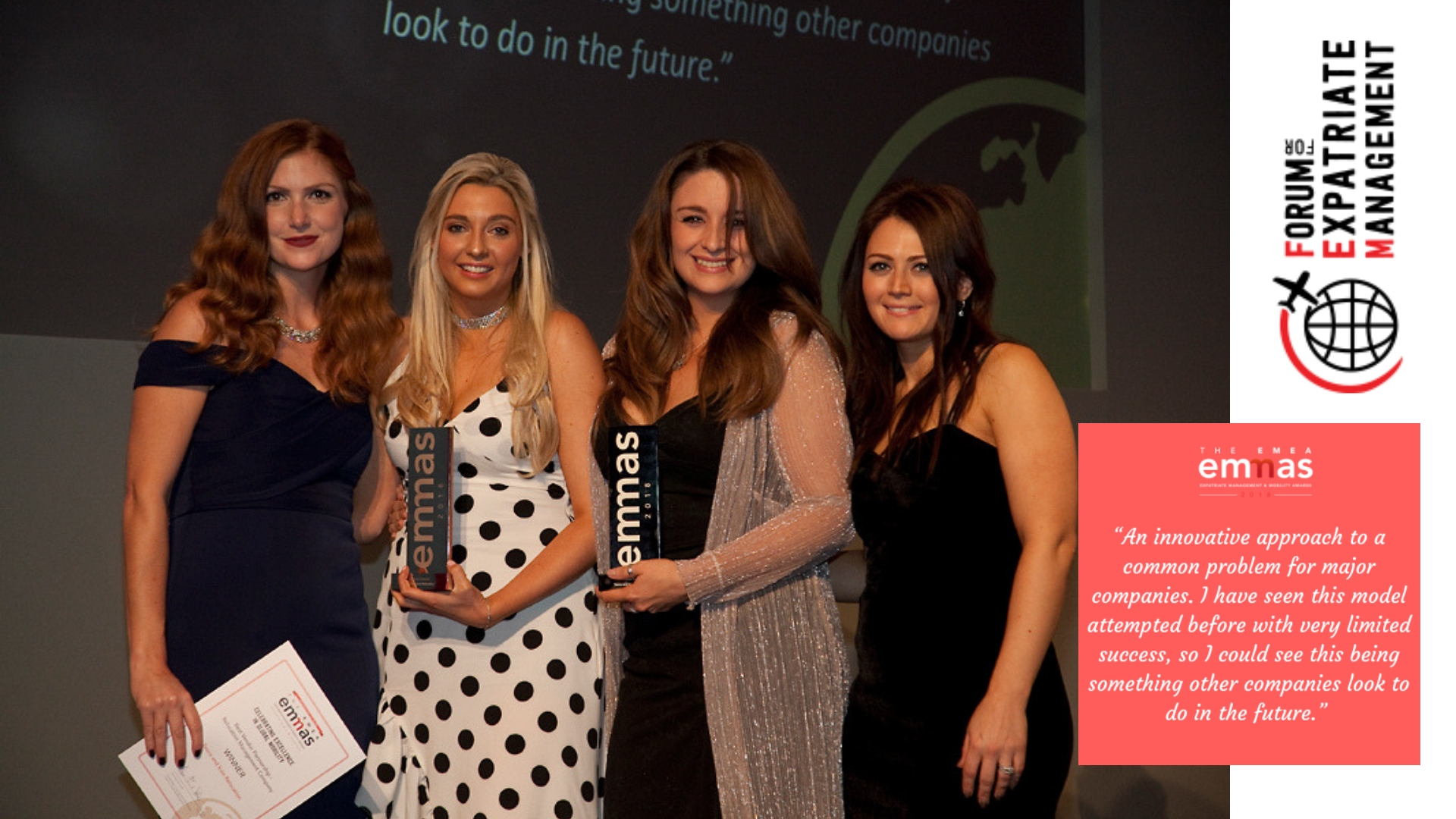 Tesco & Icon Relocation Winners - Our Corporate Housing solution for Tesco received the highest industry award by winning the Vendor Partnership EMMA. Ask how we could offer you an award winning solution.