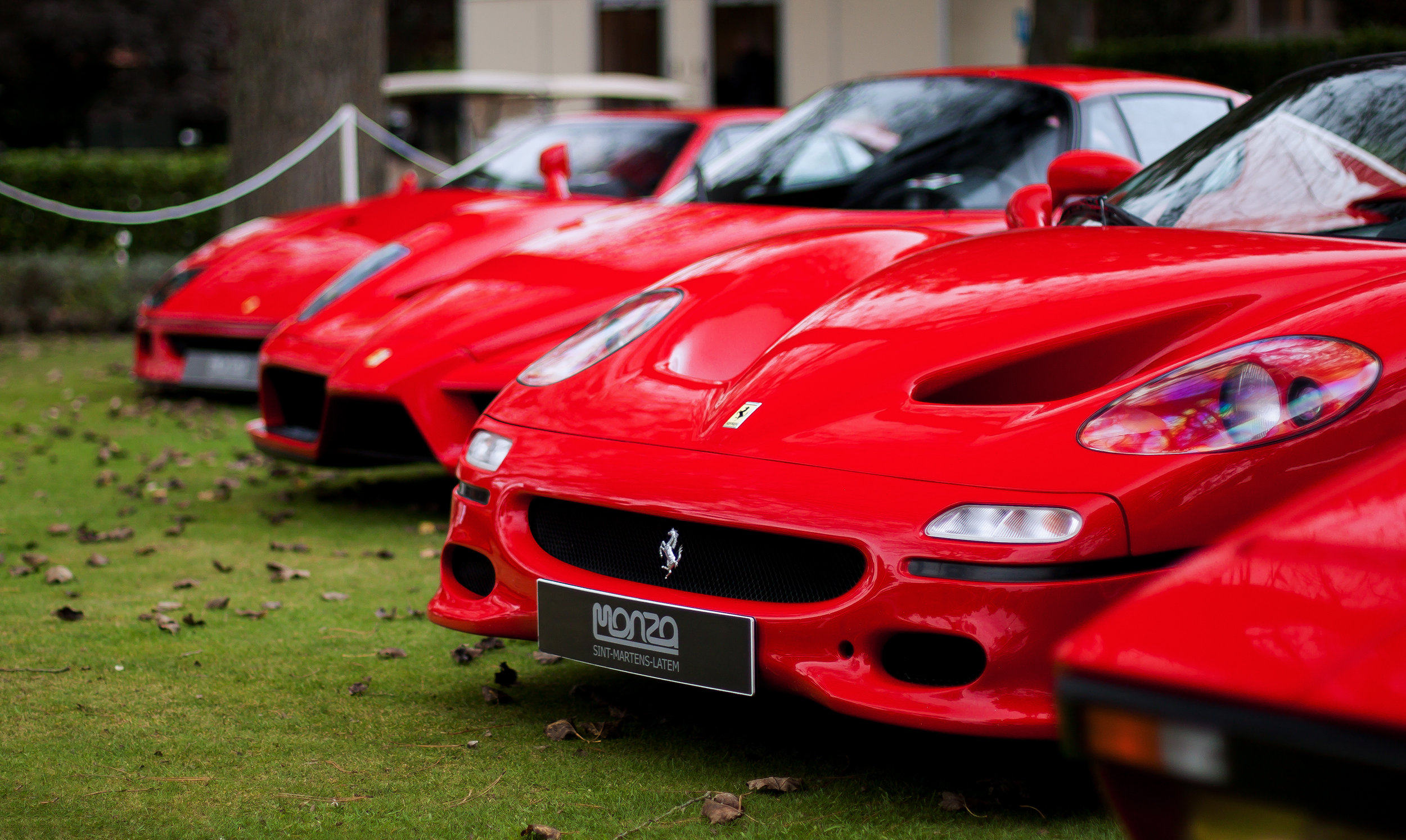 iMAGE OF A LINE OF EXPENSIVE CARS