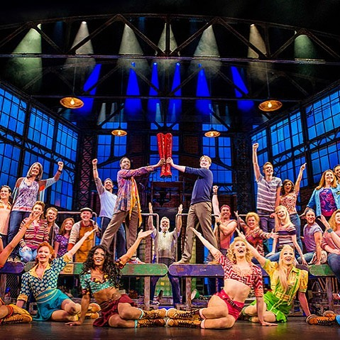 Join us tomorrow night for our broadcast from London — Kinky Boots! This is going to be a fabulous broadcast on our big screen, hope you can join us! #watervillemaine #kinkyboots #broadcastfromlondon #payattentionitsabroadcast #operahouse