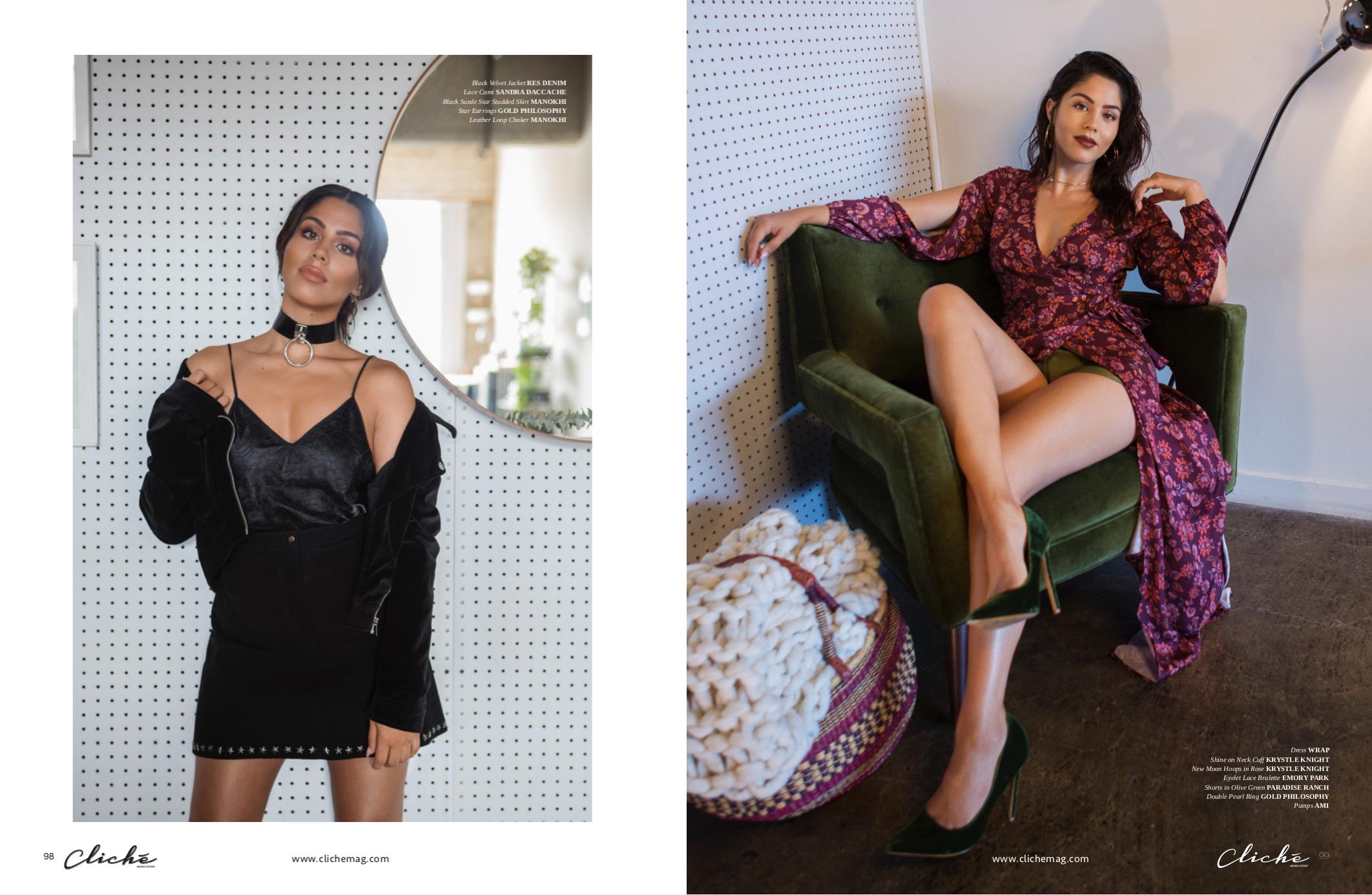 cliché magazine -