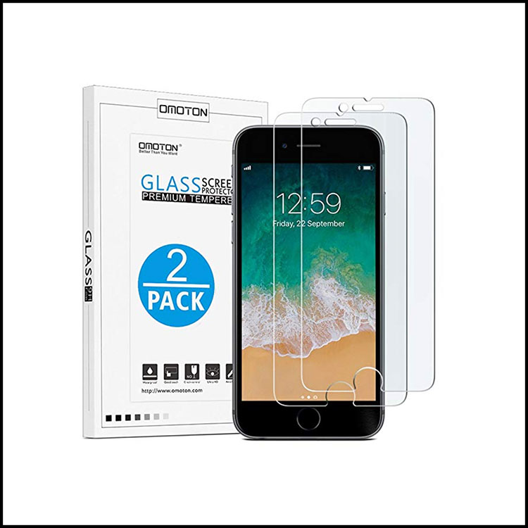 TEMPERED GLASS SCREEN PROTECTORS -
