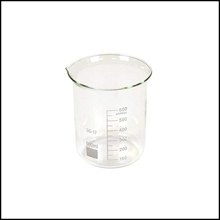 GLASS SCIENTIFIC BEAKERS -