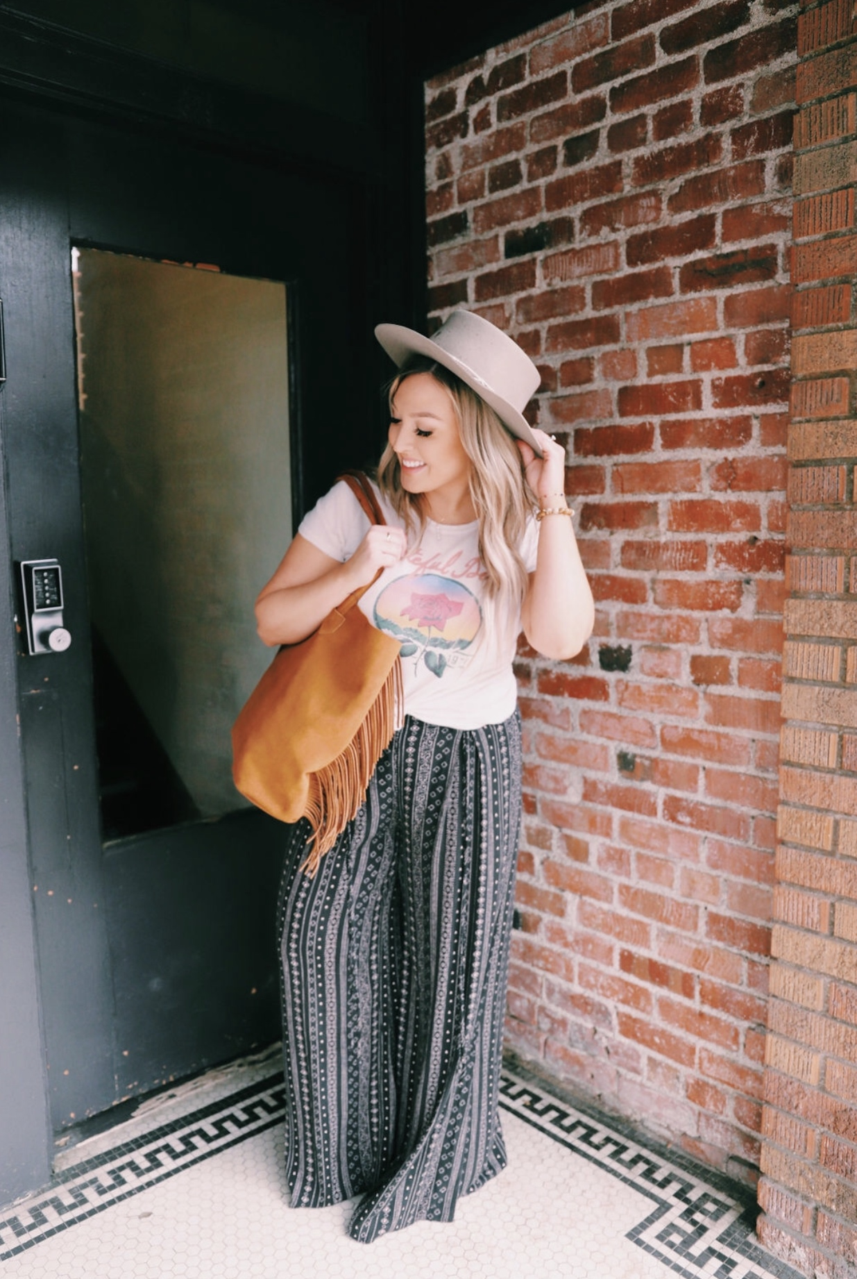 Retro clothing and boho vibes from founder Ivy Pemberton of Fig + Ivy Collective in Roseville, California