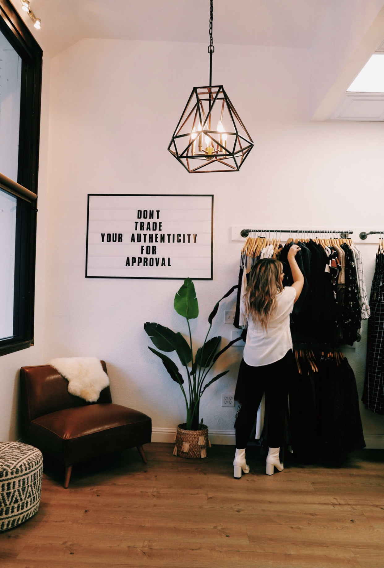 Visit our Roseville, California shop to see our hand-selected curation of size-inclusive women's clothing in retro grunge vintage boho fashion styles
