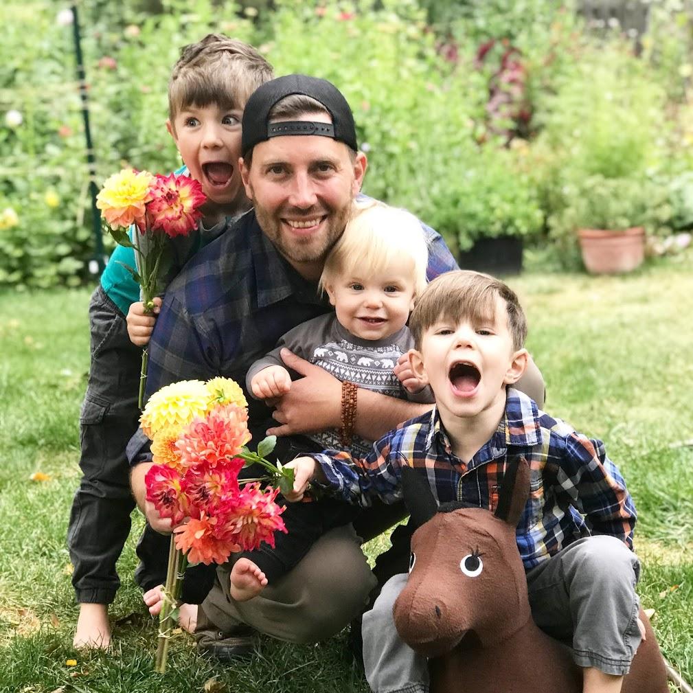 Matt. Flower farmer and florist. Owner of Bighorn Blooms.