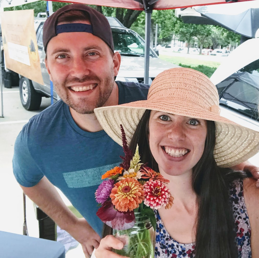 Fort Collins flower farmers. Owners of Bighorn Blooms Flower Farm.