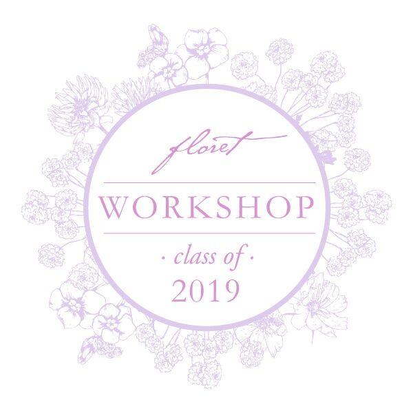Floret Farmer Florist Workshop Class of 2019 Badge