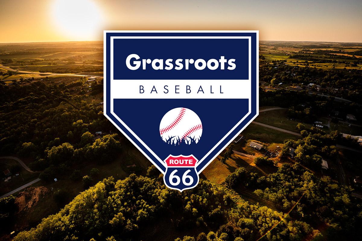 Grassroots Baseball Route 66 Tour logo