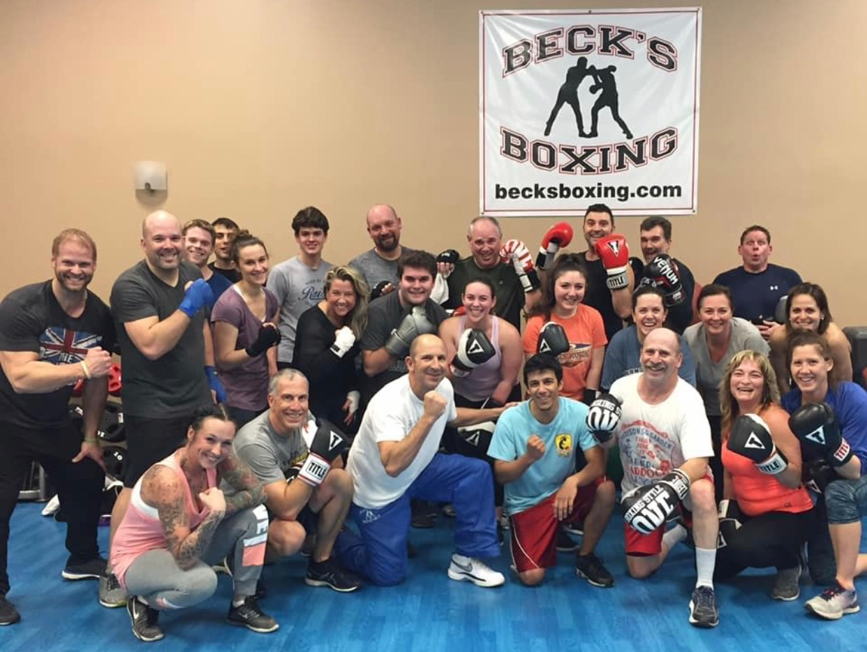 About Beck's Boxing - Beck's Boxing was created for all fitness levels.