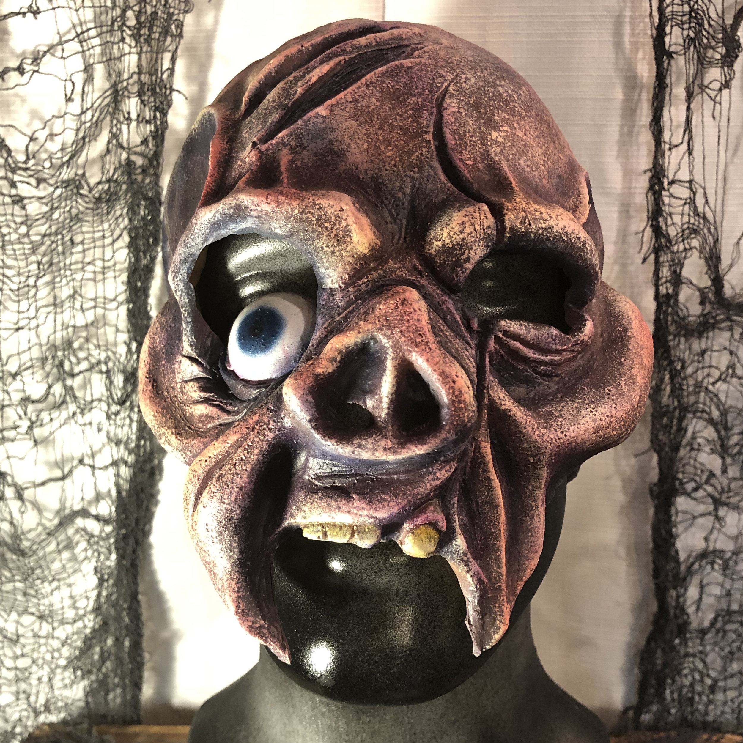 Mutant  $80.00  This chinless mask allows the wearer to have the ability to talk while disguising your appearance.  100% Natural Latex Mask