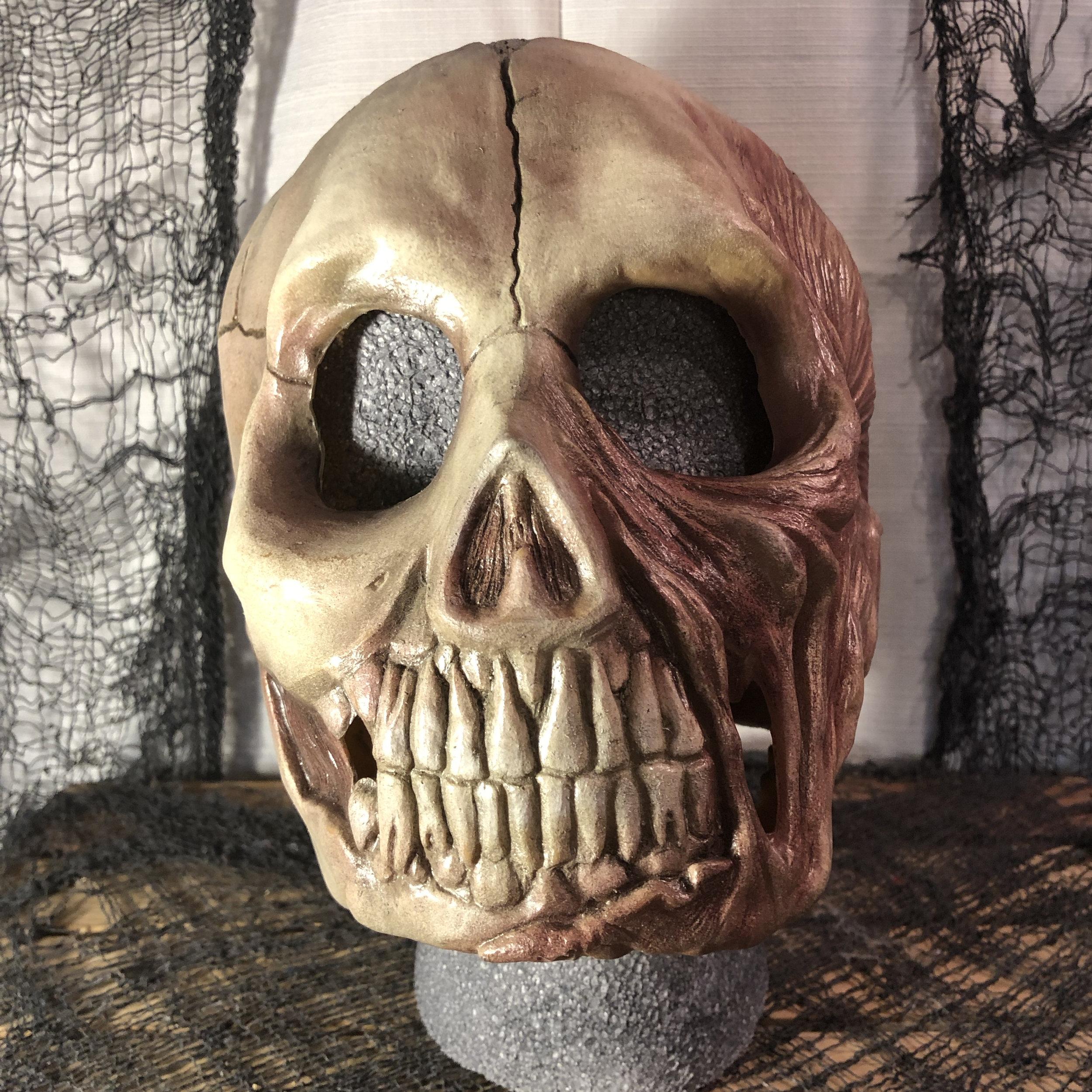 Skin & Bones  $125.00  Full Coverage Mask  100% Natural Latex Mask