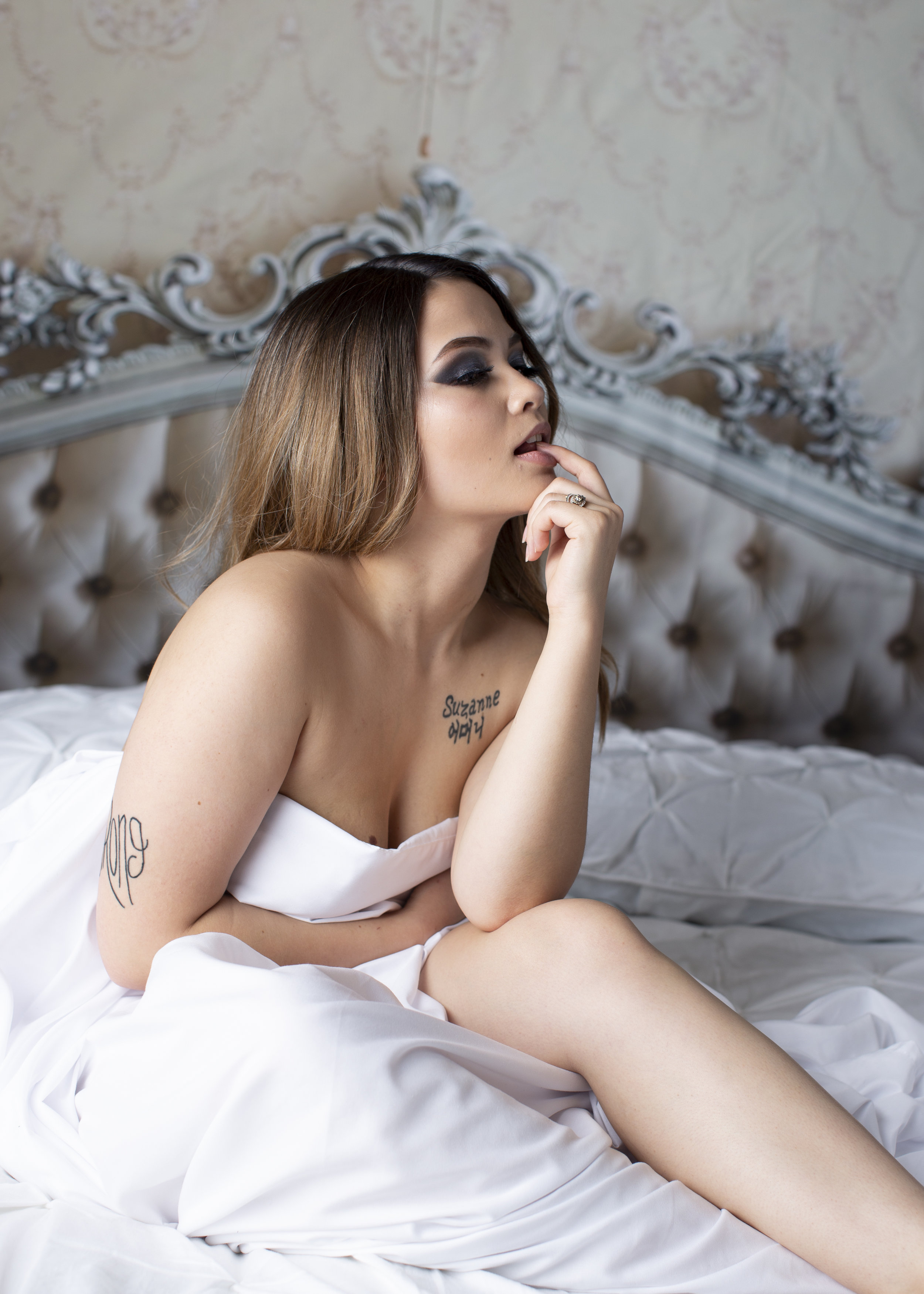 Model: Meredeth Burgess  #Boudoir #NewStyle #Beauty #WallFlower-Photograpy
