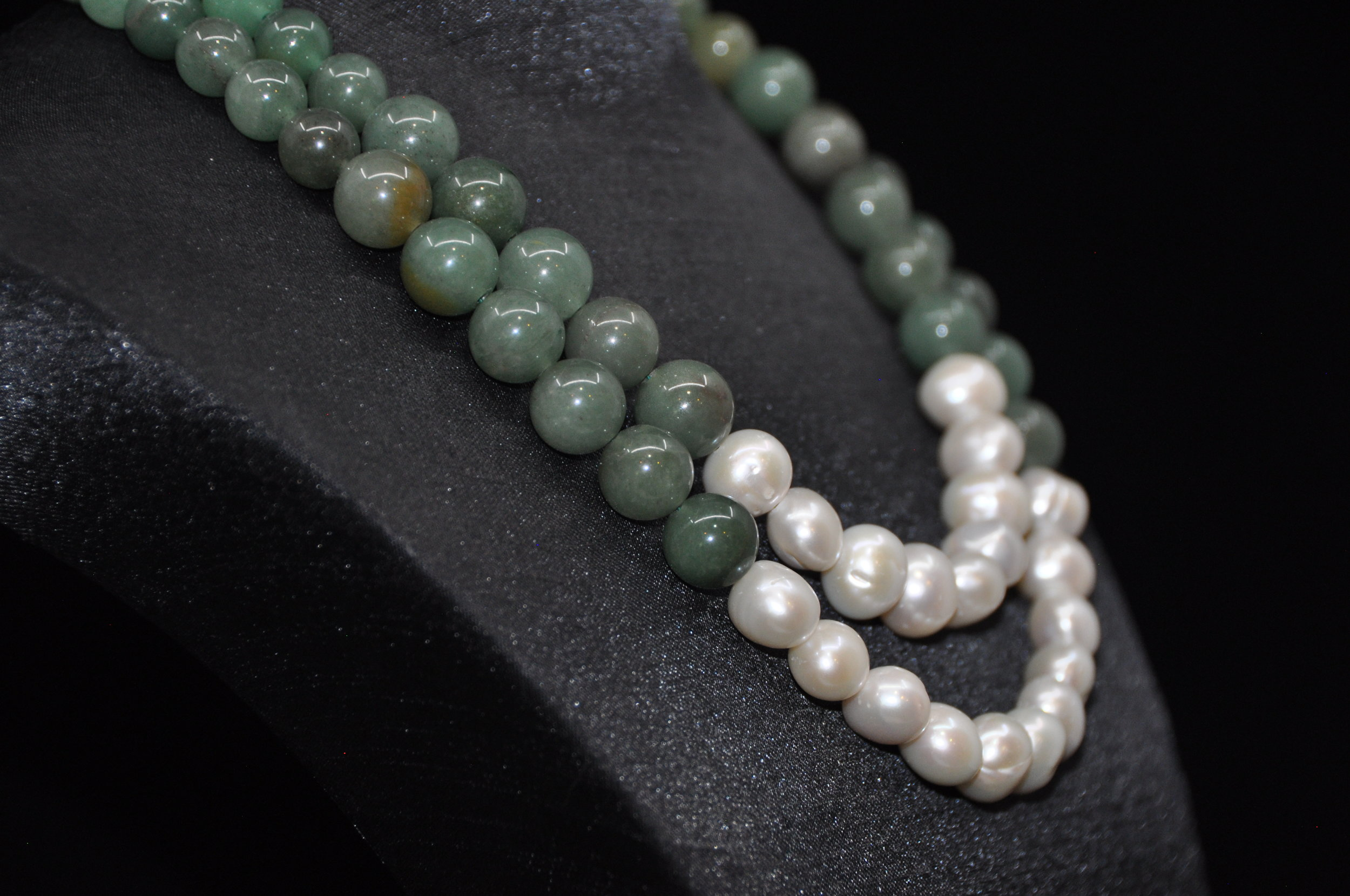 Aventurine & Pearl Necklace and Earrings 3 copy.JPG
