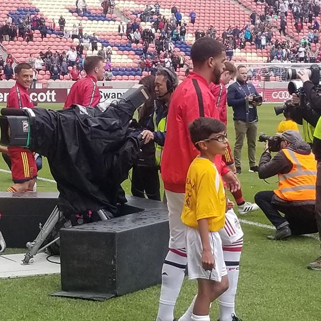 SWAT players getting on the field at our RSL game. Making memories building character. #swatunited #swatcrush #swatsoccer #swatsoccersaturday #swat #swatrecreation