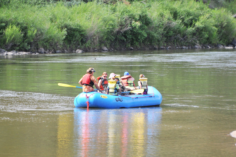 The Upper Section of the Colorado River is perfect for families and people of all ages! We will raft through the scenic and majestic Little Gore and Red Canyons. Brave Eye of the Needle Rapid, and enjoy the tranquility of the 'lakes' from our Radium to Rancho trip. For some added excitement challenge yourself in an inflatable kayak otherwise known as a 'ducky'.