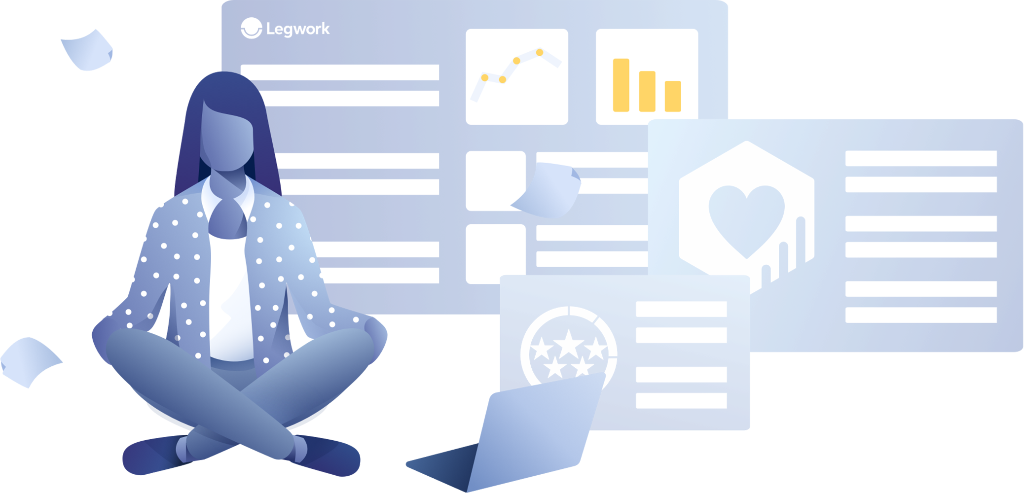 Practice Efficiency - Easily confirm and track appointments with Legwork's intuitive dashboard. Streamline your day with real-time to-do and task lists, while communicating freely with patients.