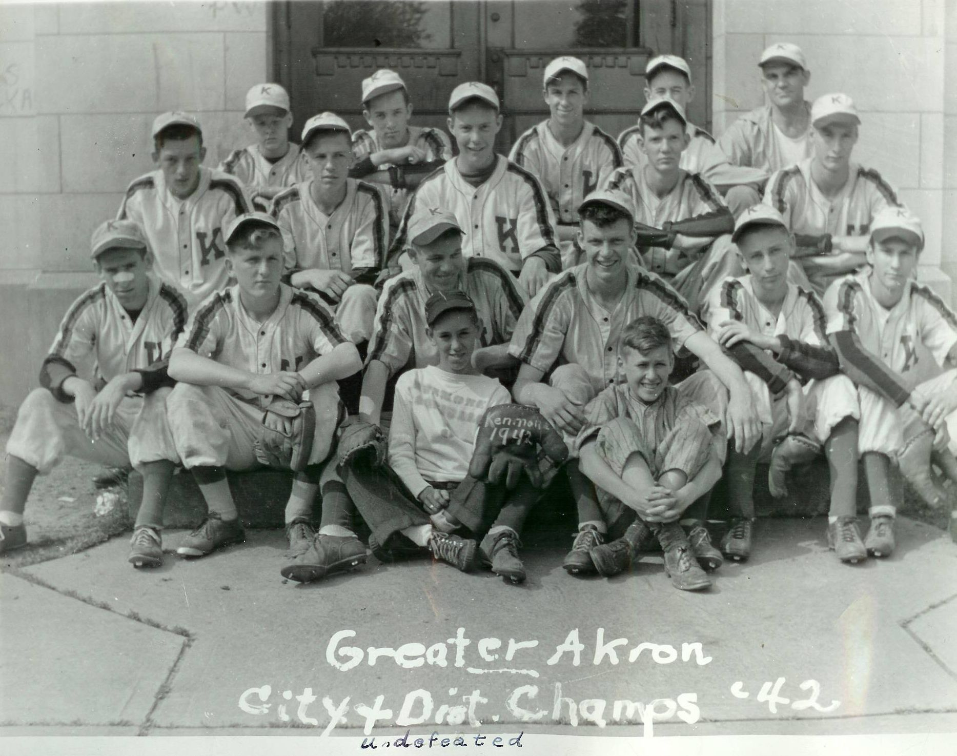 SPORTS - 1942 KHS BASEBALL - Greater Akron City & District Champs.jpg