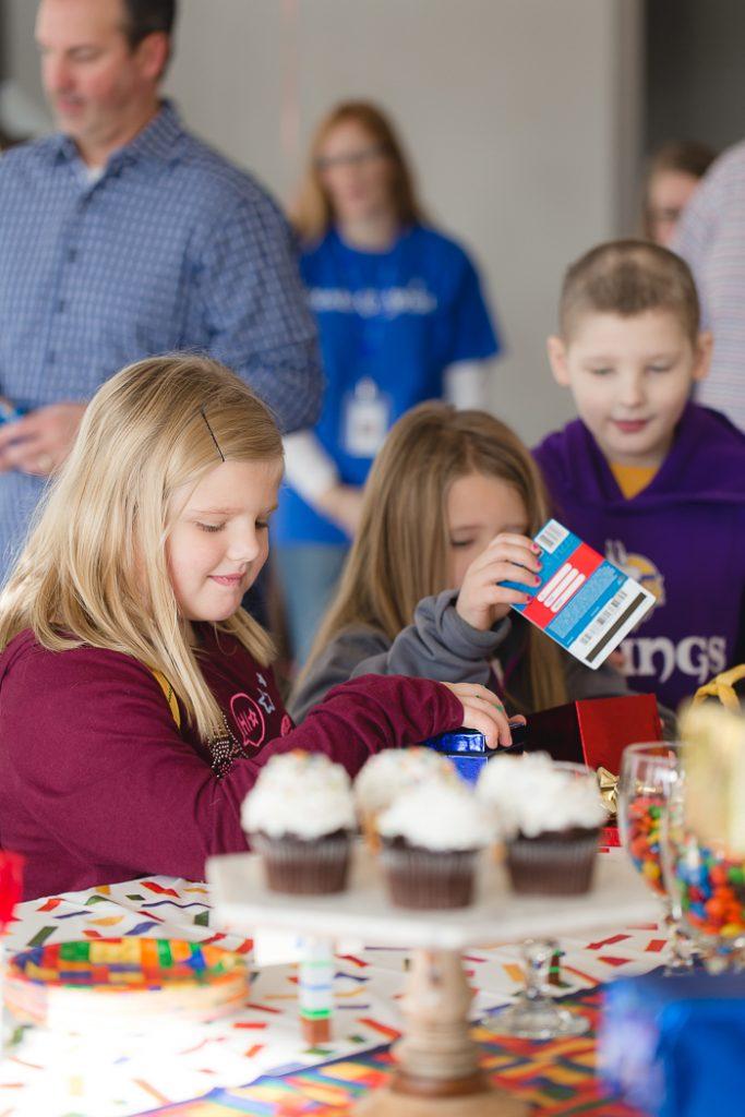 Kids Eating Cupcakes