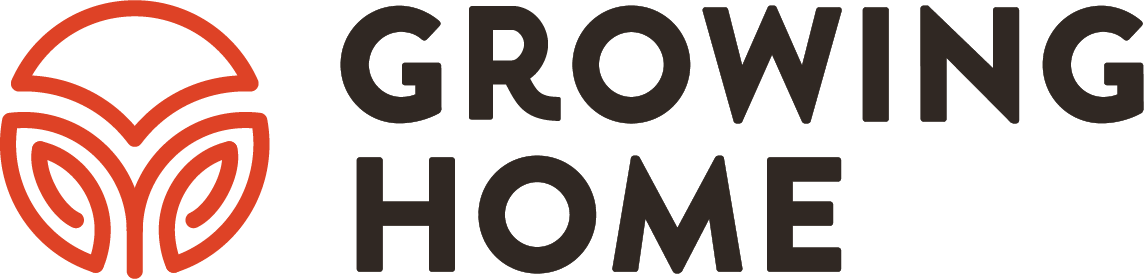 Growing Home logo Stacked Horizontal - Red Logo and Black Text.png