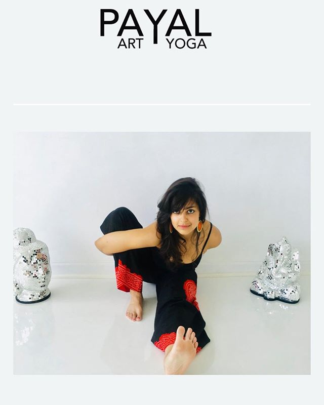 www.payal.nyc is LIVE 💫 #newwebsite #webdesign #designedbyme #art #yoga #love #yogateacher #artadvisor #ladyboss #learningasigo #thankyou @aleighuribe ✨✨✨