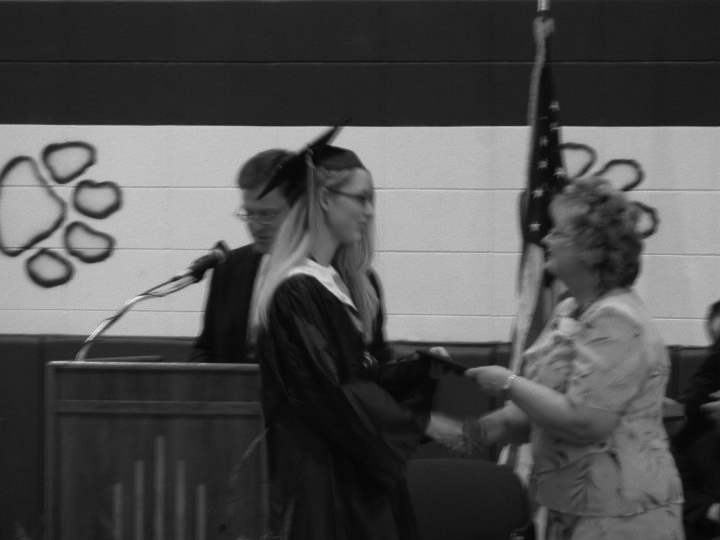 High school graduation - May 9, 2010