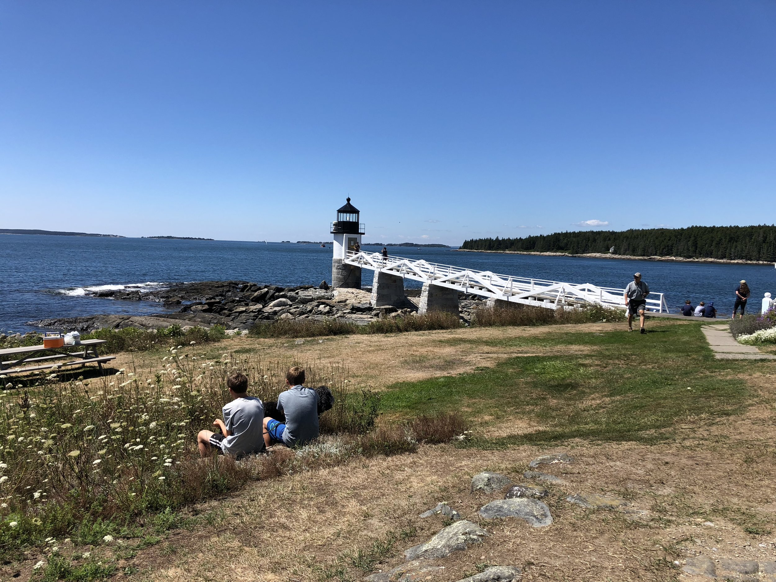 The Marshall Point Lighthouse