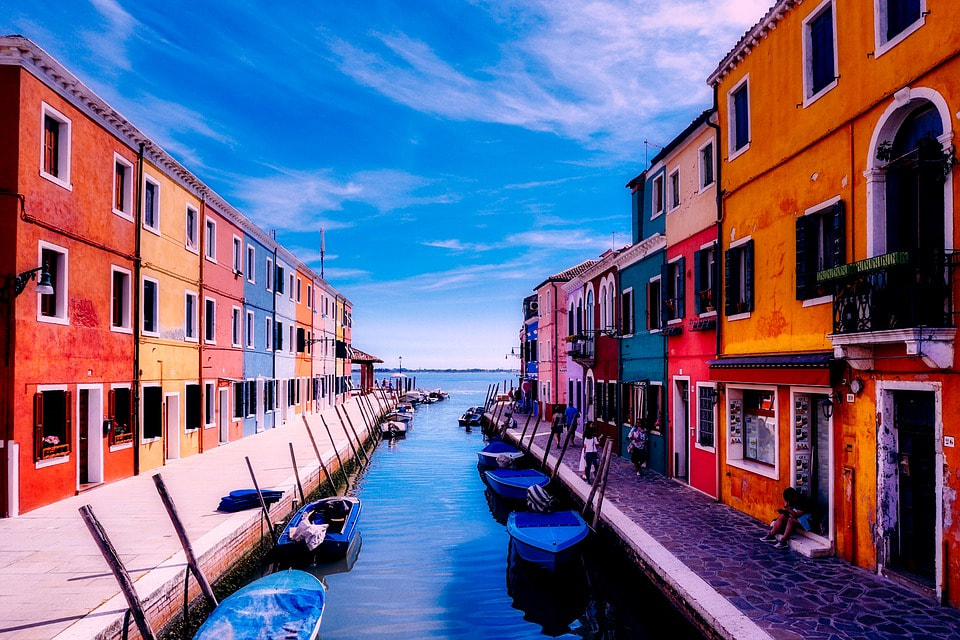 Burano, Province of Venice in Italy