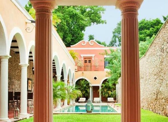 luxury hacienda hotel in merida mexico
