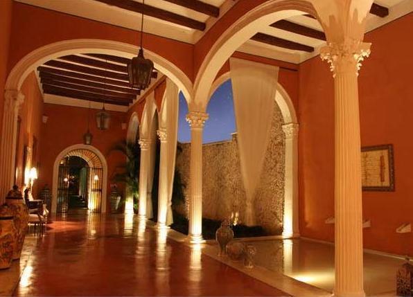 5 star hacienda hotel in Merida Mexico
