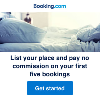 rent your place on booking.com to earn money while traveling image