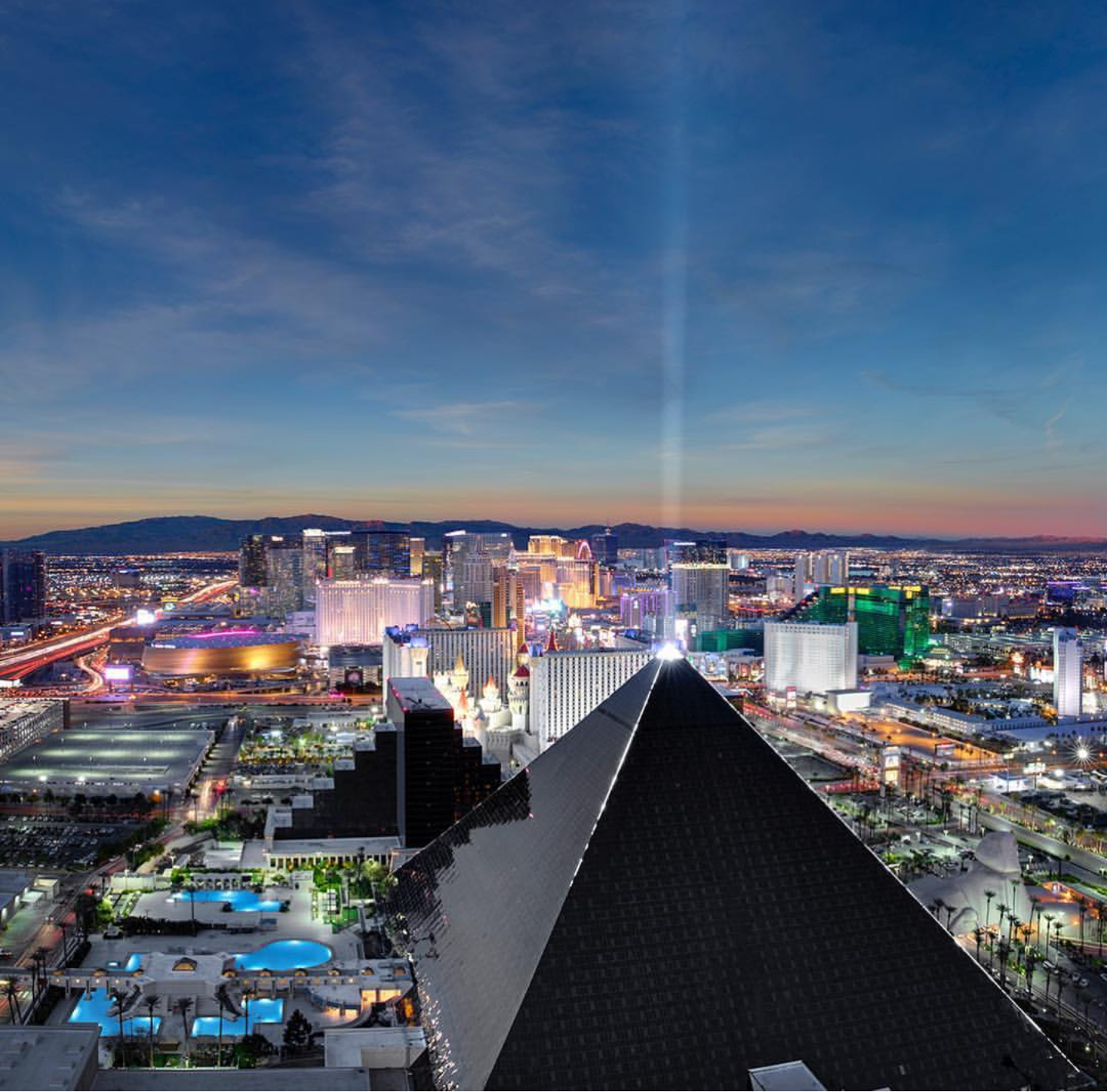 Luxor Hotel and Casino @luxorlv