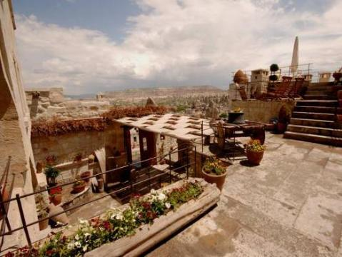 mithra hotel cave suites terrace ohoto