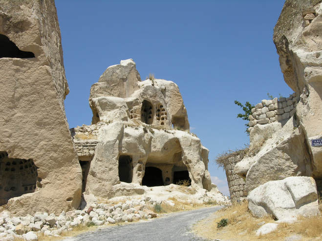 fairy chimney in cappadocia