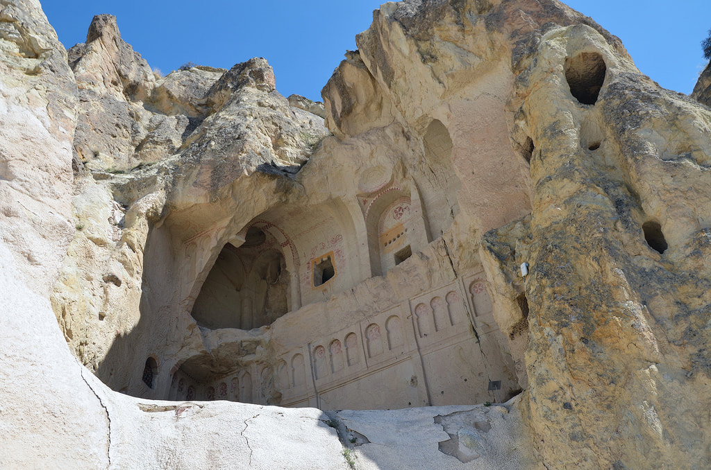 rock churches in cappadocia