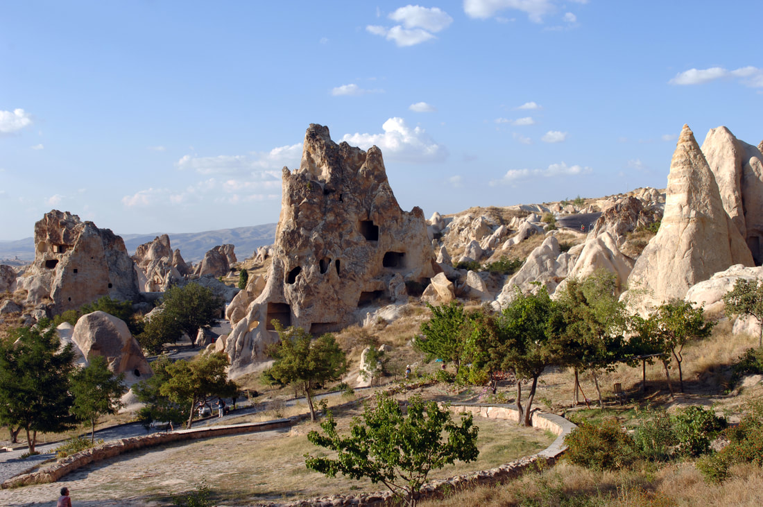 rock formations in turkey