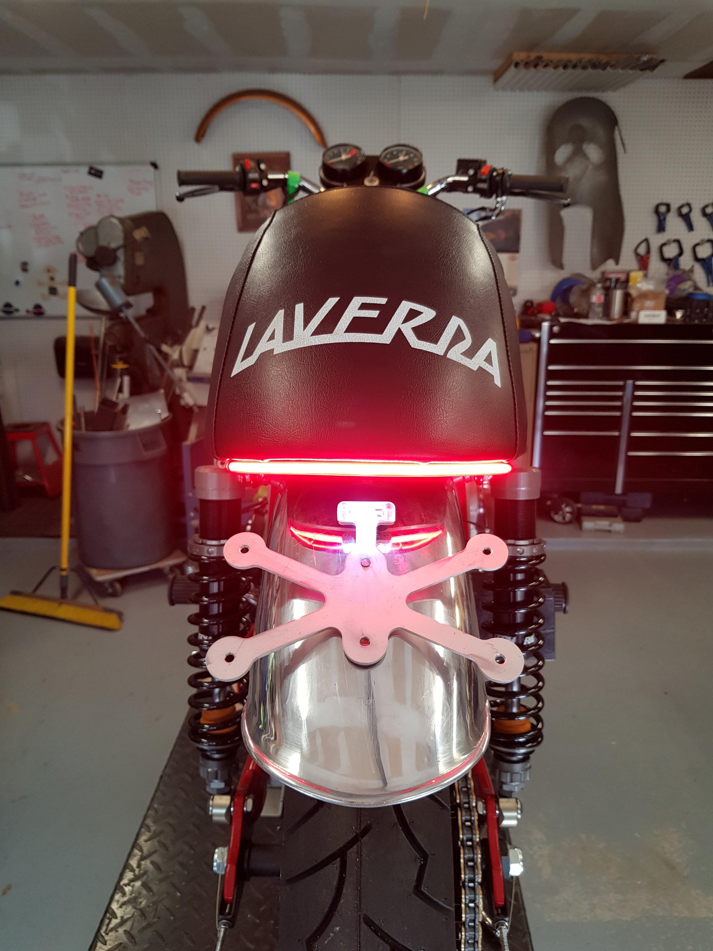 Laverda Tank and Tail Light