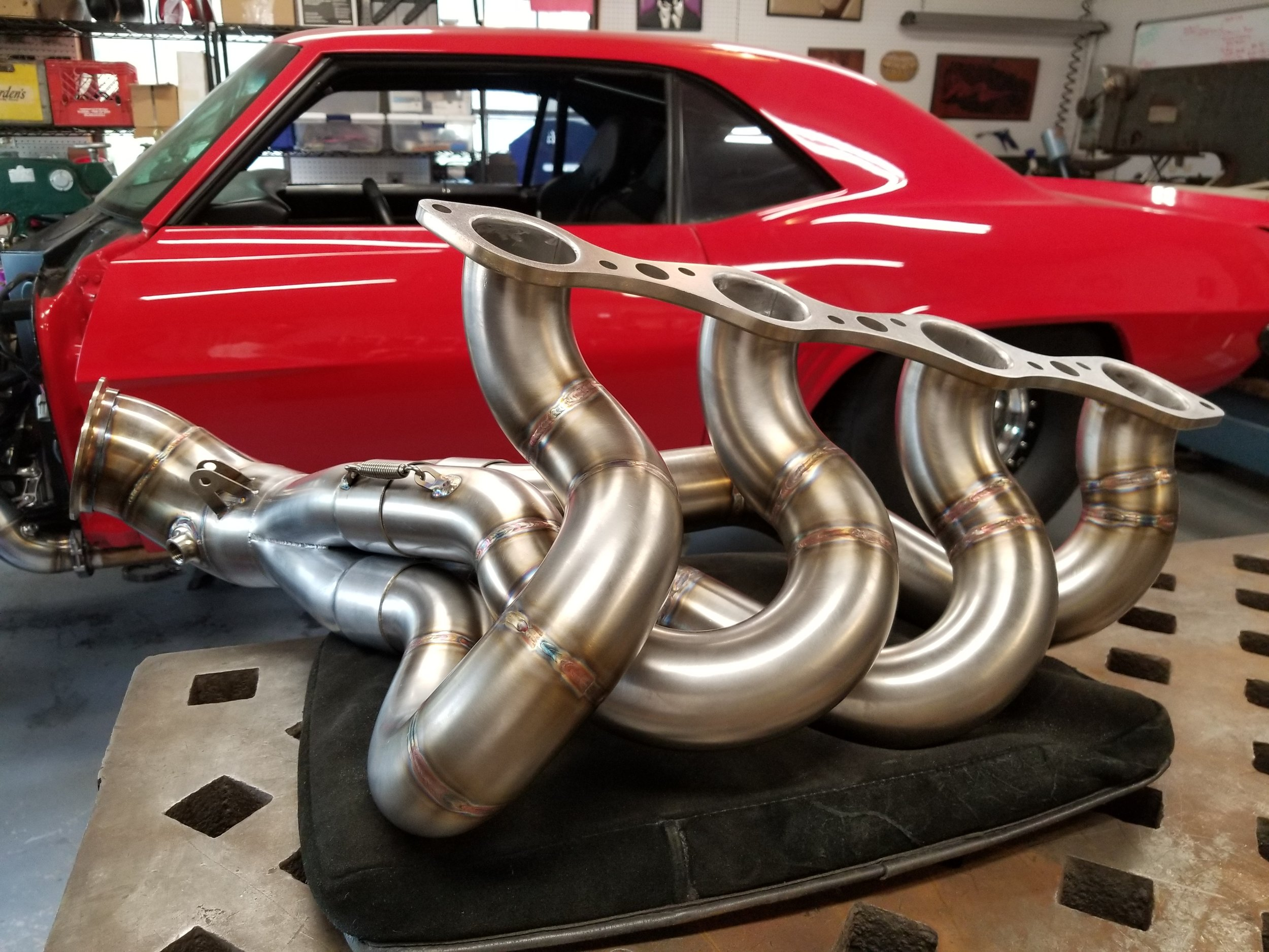 4-into-1 Exhaust