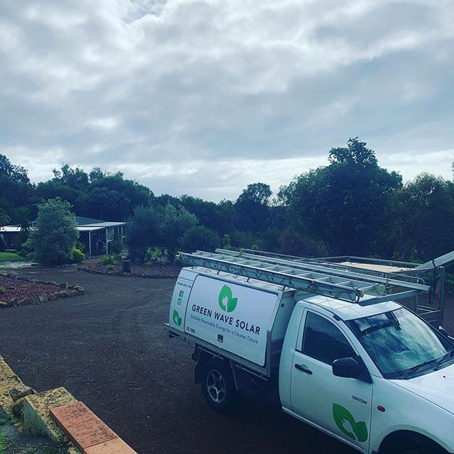From one side of the Cape Naturaliste Ridge to the other today!  Avoiding the showers, and enjoying this view from the office.  There's no such thing as bad  weather, just bad clothing!  Cheers Billy..... #getintouch #greenwavesolar  #downsouthwa #dunsborough #busselton #yallingup #margaretriver #solarpanels