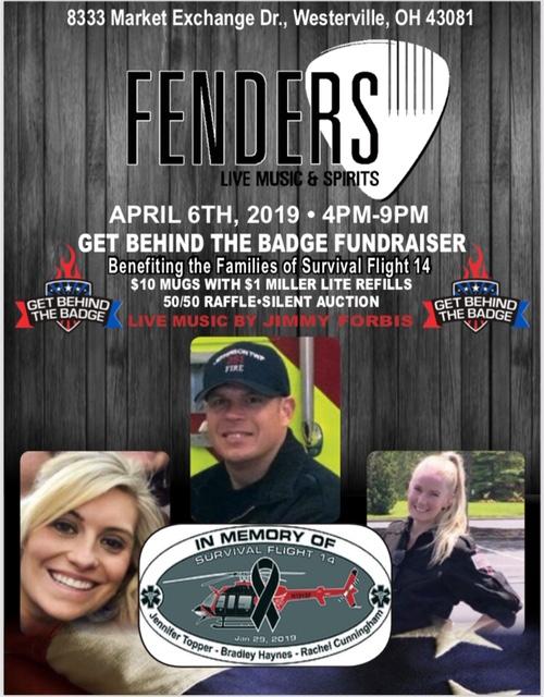 FENDERS Bar April 6th 2019