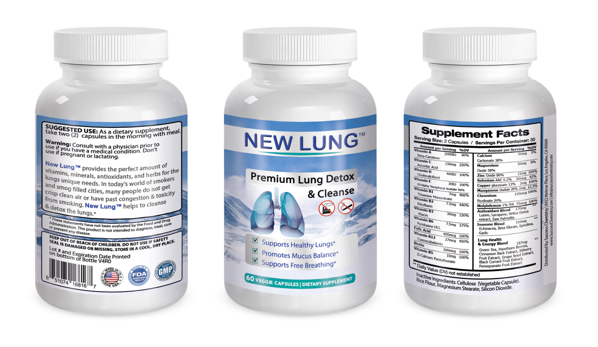 lung health supplement