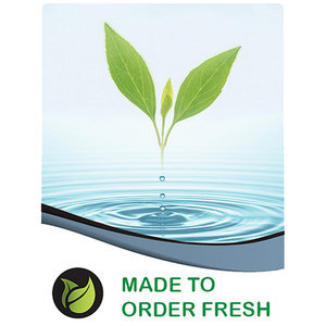 Fresh is pure fresh is potent, freshness enhances results. We have established a MADE TO ORDER supply chain. This means when you place your order your bottle is made and sent.
