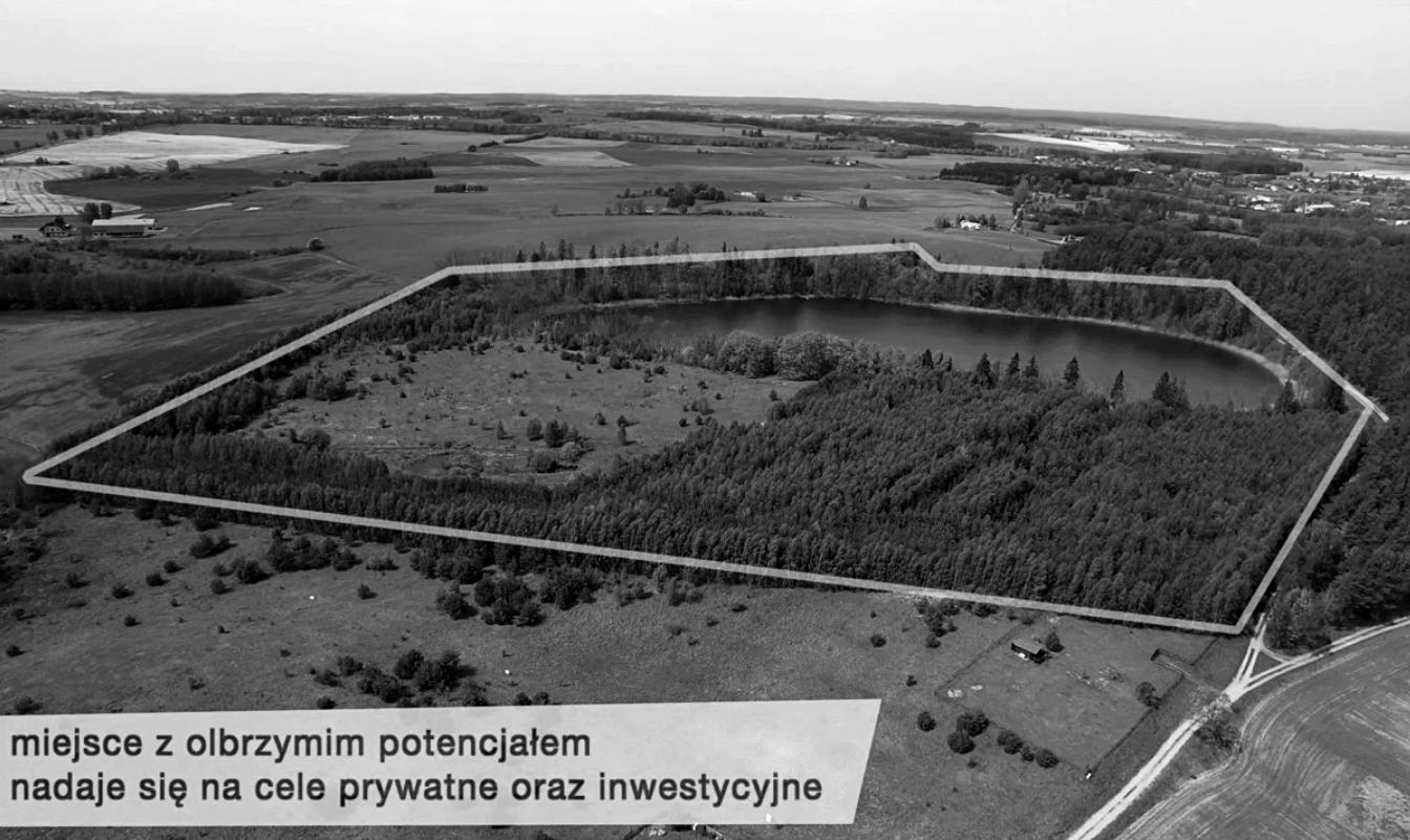 Obozin – nieruchomość gruntowa z jeziorem - Województwo Pomorskiegm. Skarszewypowierzchnia 20 ha2 500 000 zł