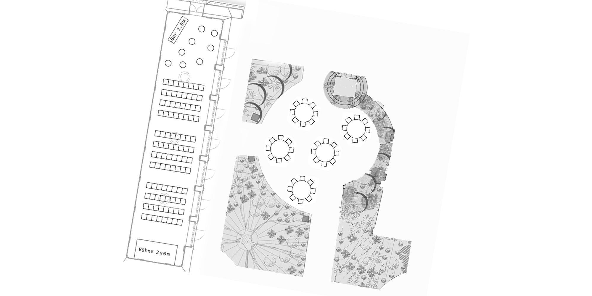 Das ViENNABALLHAUS mit Garten