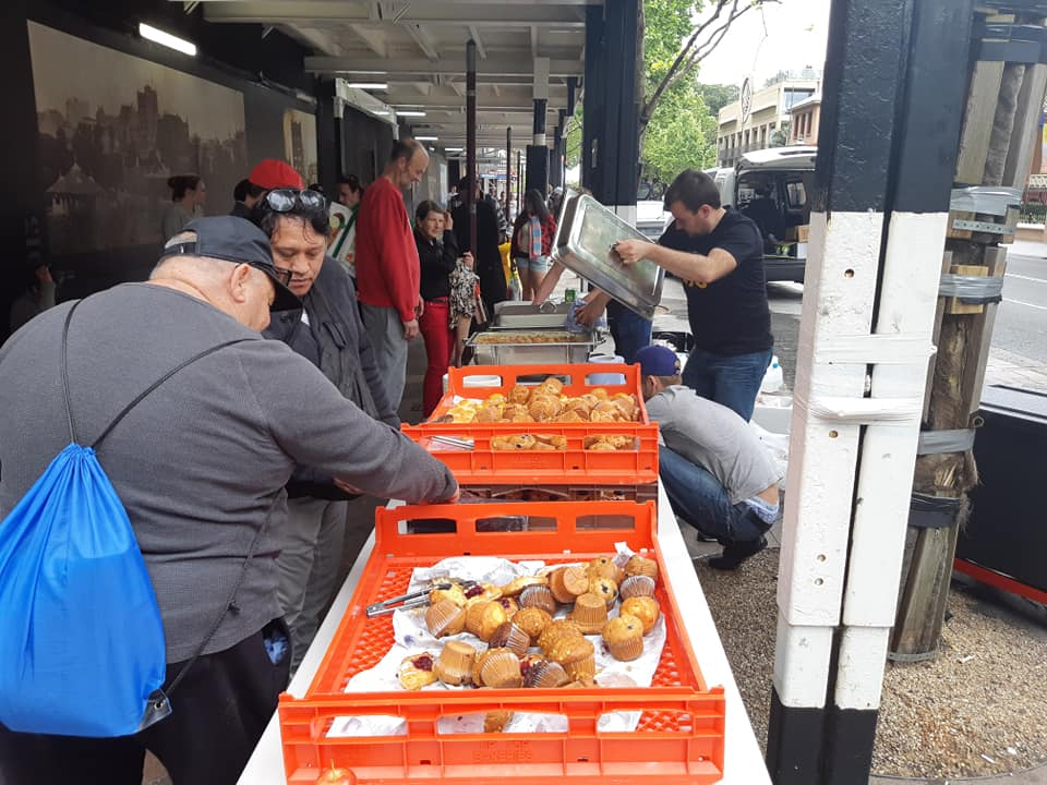 The CUDL Street Kitchen offers a variety of nutritious meals with an army of volunteers and allies