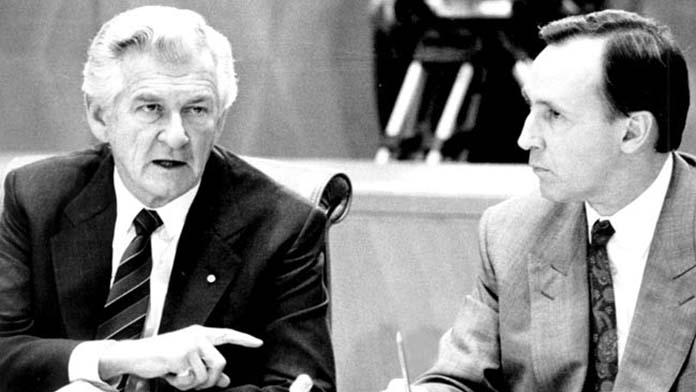 The Hawke government of 1983 decimated the Australian Union movement with the Price & Incomes Accords