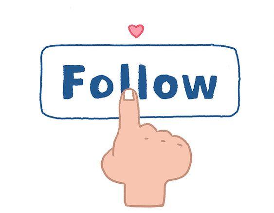 Follow community specific content